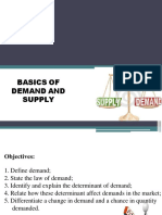 Supply and Demand