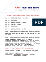 Travel Form Example