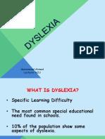 Dyslexia Parents Meeting