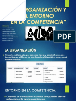 La Organización y El Entorno.pptxdiapos Terminado