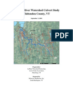 LaPlatte River Watershed Culvert Study, 9-2010