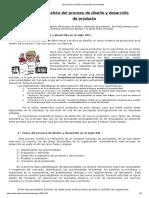 El Proceso de Diseño y Desarrollo de Productos