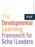 Developmental Learning Framework for School Leaders