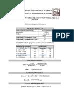memoria de calculo para diseño de linea de conduccion por gravedad