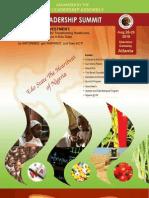 Edo Leadership Summit- 2010 Program Book