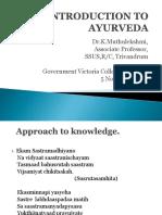 Introduction to Ayurveda