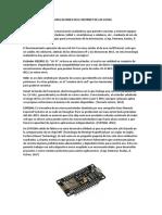 Módulo ESP8266 y Sus Aplicaciones en El Internet de Las Cosas
