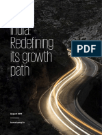 India, Redefining Its Growth Path 2019