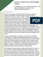 Antologia de documentos e estudos sobre a espiritualidade de S. Nuno de Santa Maria   Secretariado N