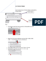 How to Use and Read a Vernier Caliper