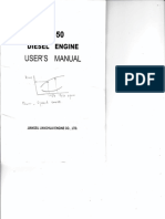 Jiangsu Jianghuai Engine (2L-50) User Manual
