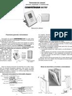 Termostat Manual de Utilizare 097rf
