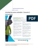 Actividad Evaluacion Escenario 2 Matematicas
