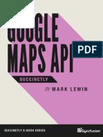 Google Maps API Succinctly Xxx