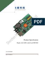 HD-E62 Spec. V2.0.1