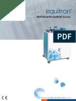 Equitron Autoclaves SLEDOC