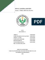 Critical Journal Review (CJR) KALKULUS DIFERENSIAL