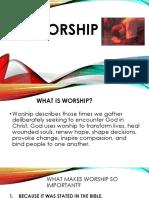 Worship for Maruray