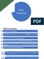 nidhi companies