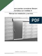 Manual de Instalación UniSlide H