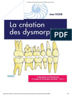 La Création Des Dysmorphies Jean FLOUR Edp Sante - Parresia