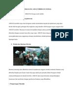 BENTUK Kerja Sam Asean Di Bidang Sosialdocx