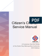 SBMA Citizen Charter Manual - 2019 Edition (1)