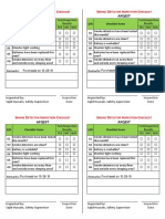 Smoke Detectors Monthly Inspection Checklist. AFQ