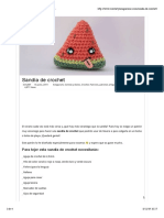 Sandia de Crochet