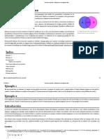 Teoría de Conjuntos - Wikipedia, La Enciclopedia Libre