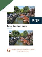 Tong Li Ancient Town