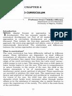 Approaches to Curriculum Development