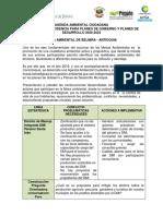 Agenda Mesa Ambiental Belmira