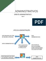 Atos Administrativos Aula 7