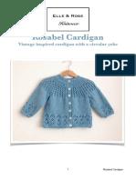 Rosabel Cardigan English