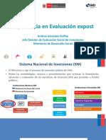 Evaluacion Expost