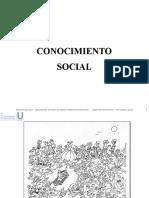 5. Conocimiento Social