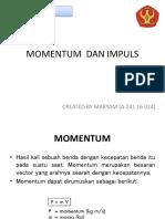 Materi 1 _momentum Dan Impuls