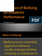 Influence of Bullying on Academic Performance
