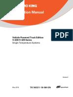 V-220, V-320 Instalation Manual