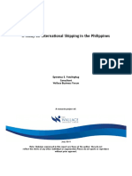 A Study on International Shipping in the Philippines