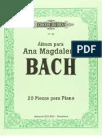 O Pequeno Livro de Ana Magdalena Bach