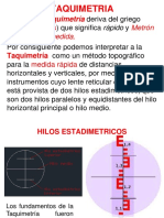taquimetria topografia