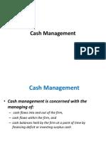 ADFM Cash Managemnt