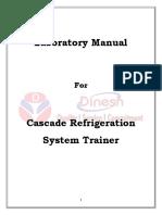 Cascade Refrigeration System Lab Manual