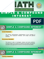Lesson 23 Illustrating Simple and Compound Interest