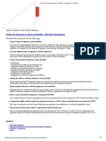 Ficha de Segurança Contra Incêndio - Perguntas e Respostas