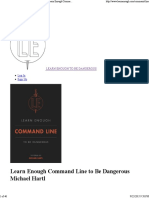 Learn Enough Command Line to Be -Dangerous.pdf