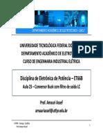 ConversorBuck_Filtro de saída.pdf