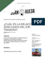 Relación Del Paso Del Diferencial Trasero_ _ Juan Rueda International